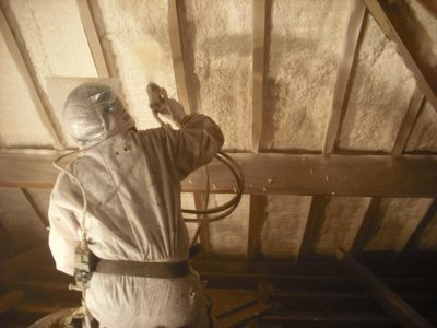 Domestic-19-400x300 Foam Spray Insulation - Specialists, Contractors